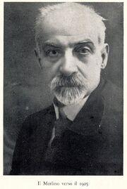 Francesco Saverio Merlino, abogado, defendió a los acusados durante el juicio.
